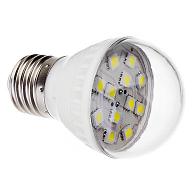 E26/E27 2 W 12 SMD 5050 170 LM Cool White A Globe Bulbs AC 220-240 V