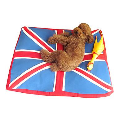 Berbero pile e cotone Inghilterra Bandiera modello Letto per Animali Cani Gatti (SM)