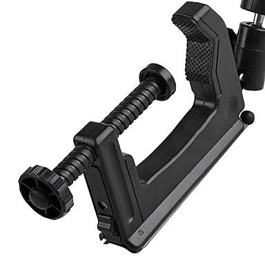 DSLR fotoğraf makinesi Kamera Max 5kg için Mini Taşınabilir Kelepçe Tripod - Siyah