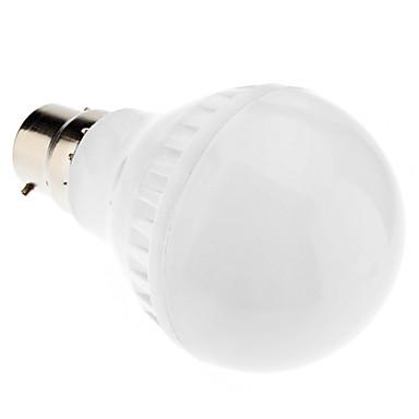 4.5W 250-300lm B22 LED Globe Bulbs A50 35 LED Beads SMD 5050 Warm White 220-240V
