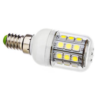 6000lm E14 Lâmpadas Espiga T 30 Contas LED SMD 5050 Branco Natural 110-130V 220-240V