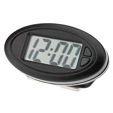 Universal 2001A 5-in-1 Multifunctional Electronic Quartz Clock for Cars