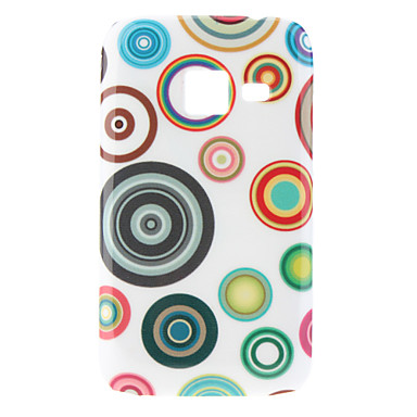 Circle Pattern Hard Case for Samsung I6802