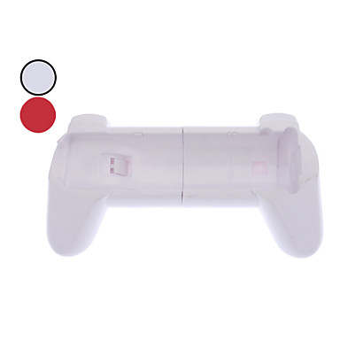 Handle Grip for Wii/Wii U Remote Controller (Red+White)