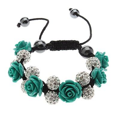 Drill Ball Rose Bracelet