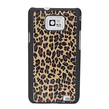 Leopard Print Pattern Hard Case for Samsung Galaxy 2 I9100