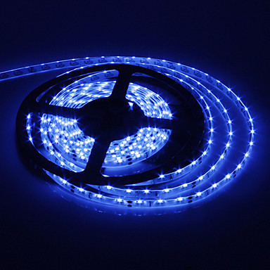 SENCART 5m Flexible LED Light Strips 300 LEDs Blue 12V