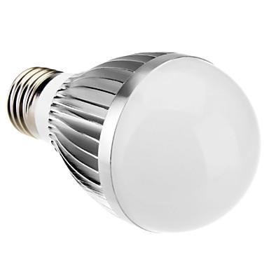 daiwl e27 6w 14x5630smd 500-530lm 6000-6500k luce bianca naturale condotto la lampadina della sfera (85-265V)