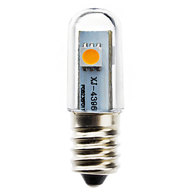 0.5W 50-100lm E14 LED a pannocchia T 3 Perline LED SMD 5050 Bianco caldo 220-240V