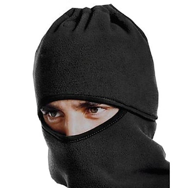 Balaclava / Face Mask / Neck Warmer Cycling Outdoor Black Bicycle Hat