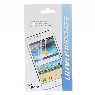 HD Screen Protector With Cleaning Cloth for Samsung Galaxy S4 I9500