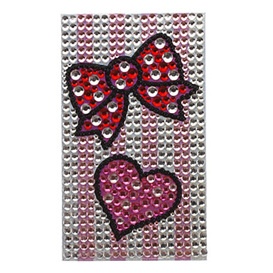 Bowknot Design Jewelry Sticker for Cellphone and Others