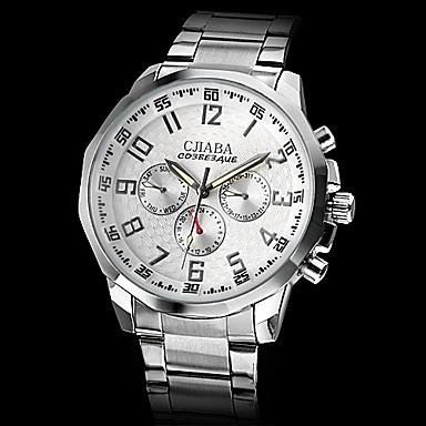 Men's Calendar Style Steel Analog Auto-mechanical Wrist Luxury Watch (Assorted Colors) Cool Watch Unique Watch