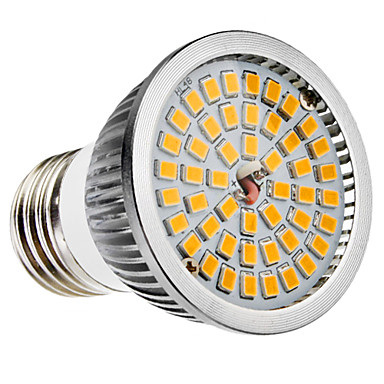 6W 500-600 lm E26/E27 B22 LED-spotlampen MR16 48 leds SMD 2835 Warm wit Koel wit AC 100-240V