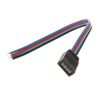 femal 4pin renkli led ışık konektörü yüksek kaliteli aydınlatma aksesuarları