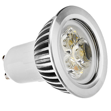 GU10 3W 210-250LM 5800-6500K Natural White Light LED Spot Bulb (110-240V)