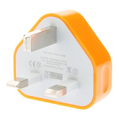 Ev Şarj Cihazı / Taşınabilir şarj USB Şarj Aleti UK Prizi 1 USB Bağlantı Noktası 1 A
