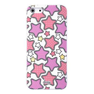 DEVIA Ergonomic Design Stars Pattern PC Material High Quality Hard Case for iPhone 5/5S