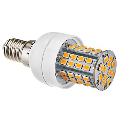1pc 3.5W 350-450 lm E14 E26/E27 LED-maïslampen 60 leds Warm wit Natuurlijk wit AC 220-240V