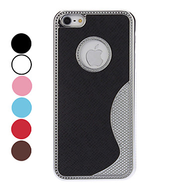 S Shape Protective Hard Case for iPhone 5/5S (Assorted Colors)