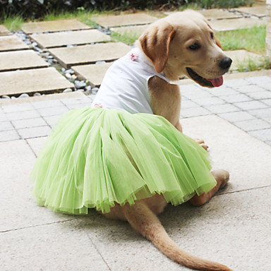 Graceful Sleeveless Princess Style Wedding Dress for Dogs (XS-XL)