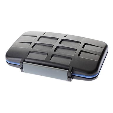 JJC MC Series Waterproof Digital Camera Memory Card Case - Black