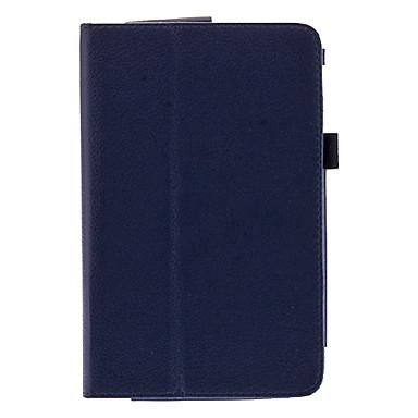 7 pouces Lichee PU Housse portefeuille en cuir pour Asus 173X bloc-notes/papier HD 7