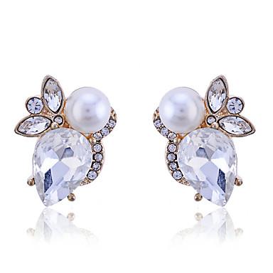 Dames Oorknopjes Parel Kristal Verguld Sieraden Feest Dagelijks Causaal Kostuum juwelen