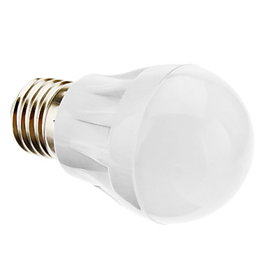 daiwl E27 3W 220-250lm 6000-6500k természetes fehér fényt vezette a labdát izzó (220-240)