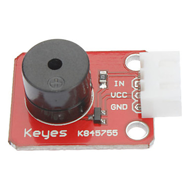 Passive Speaker Buzzer Module for (For Arduino) (Works with Official (For Arduino) Boards)