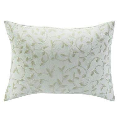 desen jakarlı dekoratif yastık örtüsü bırakır