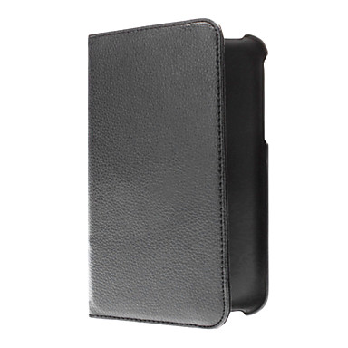 360 Degree Rotating PU Leather Case with Stand for Samsung Galaxy Tab 3 P3200