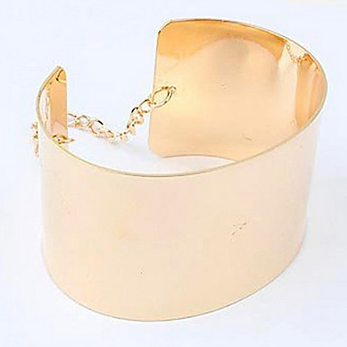 Women's 2013 New European And American Big Retro Exaggerated Metal Chain Bracelet B2