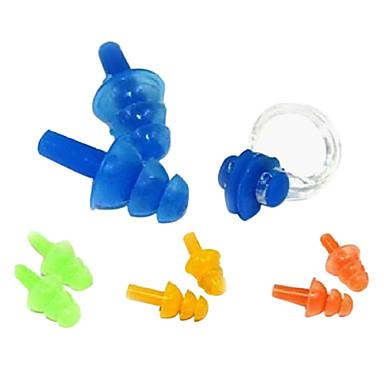 Клип носа и беруши для защиты органов слуха бассейн (Random Color)