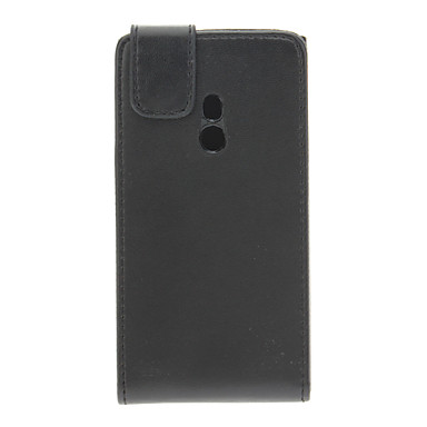 Black Magnetic Flip PU Leather Protective Pouch Case Cover For Nokia Lumia 800