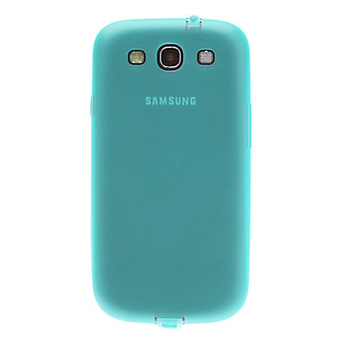 Ultra Slim Обложка чехол матовый с наушников Anti-Dust Разъем для Samsung I9300 Galaxy S3