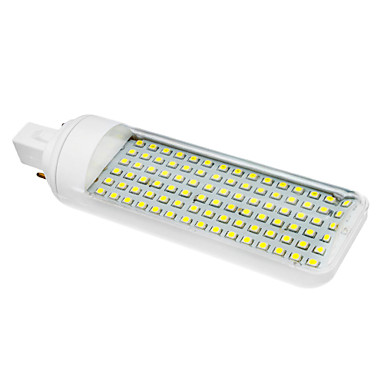 SENCART 230-260lm G24 LED Mısır Işıklar T 90 LED Boncuklar SMD 3528 Serin Beyaz 85-265V
