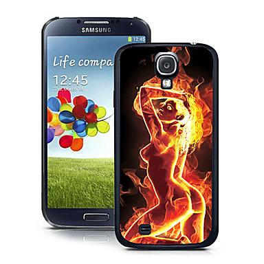 Pouzdro Uyumluluk Samsung Galaxy Samsung Galaxy Kılıf Temalı Arka Kapak Seksi Kadın PC için S4