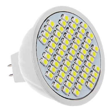 330-360 lm LED Spot Işıkları 60 led SMD 3528 Serin Beyaz AC 12V