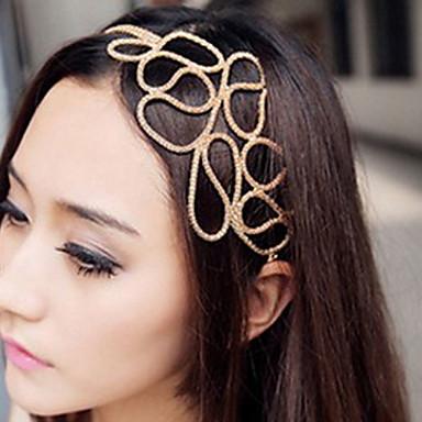 Pentru femei Elegant Material Textil Aliaj Cordeluțe Zilnic / Bijuterii de Păr