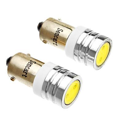 2pcs BA9S Araba Ampul 1W LED dış Aydınlatma For Uniwersalny