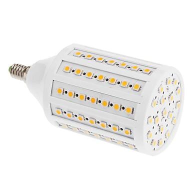 E14 20W 102x5050SMD 3000K Sıcak Beyaz Işık LED Mısır Ampul (220V)