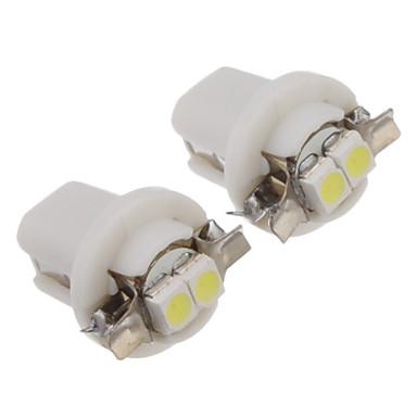 Araba Beyaz SMD 3528 6000-6500 Gösterge Işıkları Plaka Aydınlatma Lambası Sinyal Lambası Fren Işığı Kapı lambası