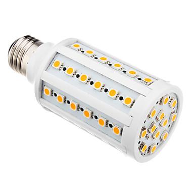 E26/E27 LED Mısır Işıklar T 60 led SMD 5050 Sıcak Beyaz 850-890lm 3000K AC 220-240V