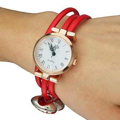 Women's Candy colors PU Band Quartz Analog Bracelet Watch (Assorted Colors) Cool Watches Unique Watches