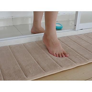 Banyo Halısı Battaniyeler Bej Çizgili 16 x 24