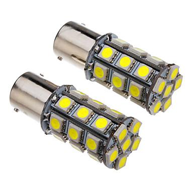 1156 Araba Soğuk Beyaz 4W SMD 5050 6000-6500 Gösterge Işıkları Plaka Aydınlatma Lambası Yan Lambalar Sinyal Lambası Fren Işığı