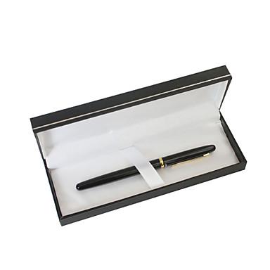 presente do dia de pai personalizado metal clássico caneta gel tinta preta preto