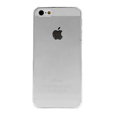 Hard Case Transparent de qualité pour iPhone 5/5S