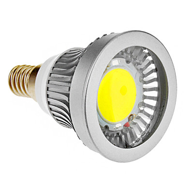 E14 3W 1xCOB 270-300LM 6000-6500K Soğuk Beyaz Işık LED Spot Ampul (85-265V)